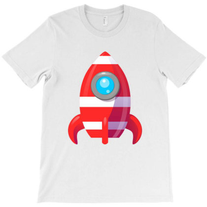 Rocket Space Spaceship Nasa Launch T-shirt Designed By Salmanaz