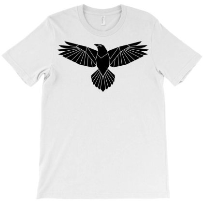 Eagle Silhouette Bird Eagle Hawk T-shirt Designed By Salmanaz