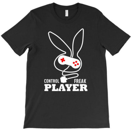 Control Freak Player Gamer T-shirt Designed By Aheupote