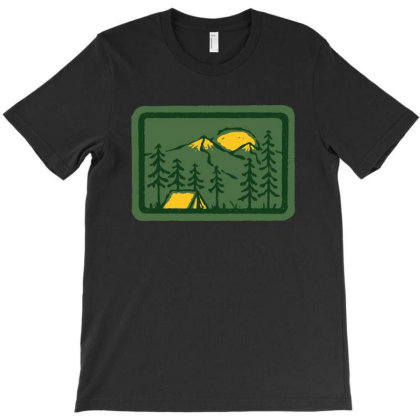 Camping T-shirt Designed By Quilimo