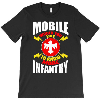 Starship Troopers Mobile Infantry T-shirt Designed By Aheupote
