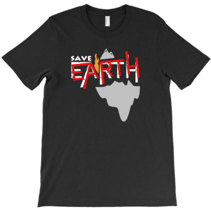 Save Earth T-shirt Designed By Aheupote