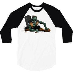 Zombie Apocalypse 3/4 Sleeve Shirt | Artistshot