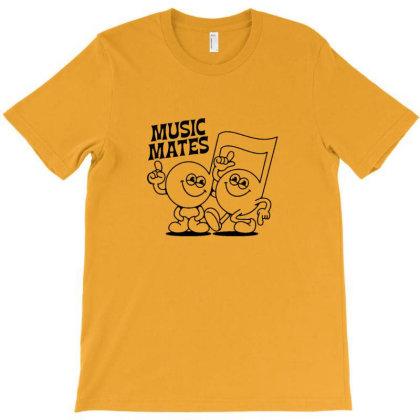 Music Mates T-shirt Designed By Asatya