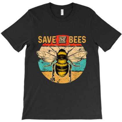 Save The Bees T-shirt Designed By Kakashop