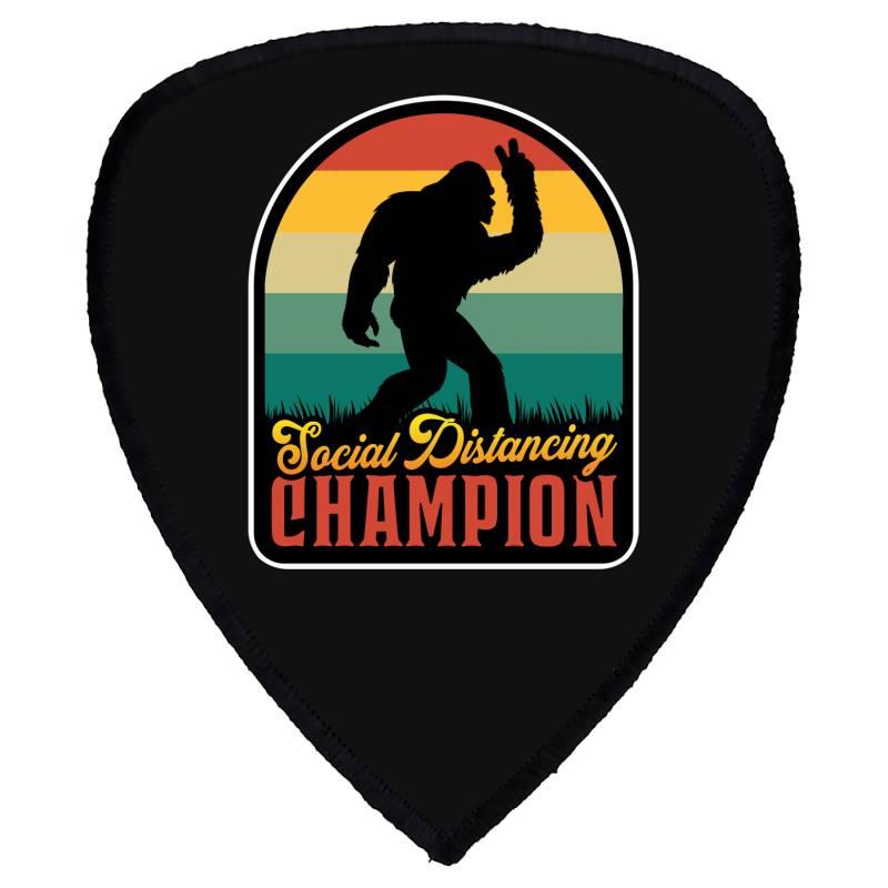 Social Distancing Champion Shield S Patch | Artistshot