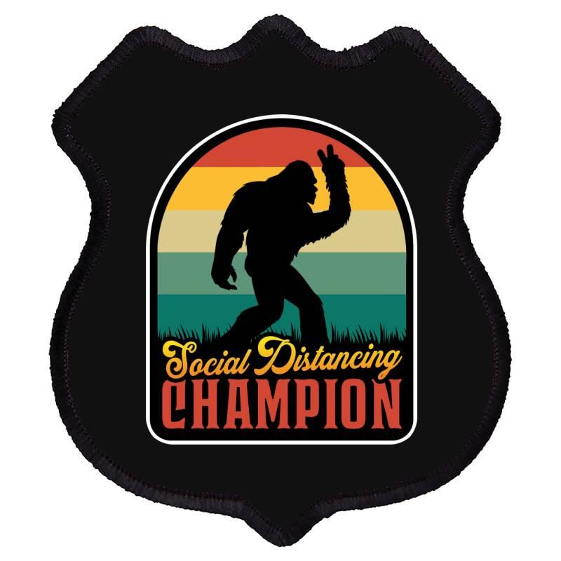Social Distancing Champion Shield Patch | Artistshot