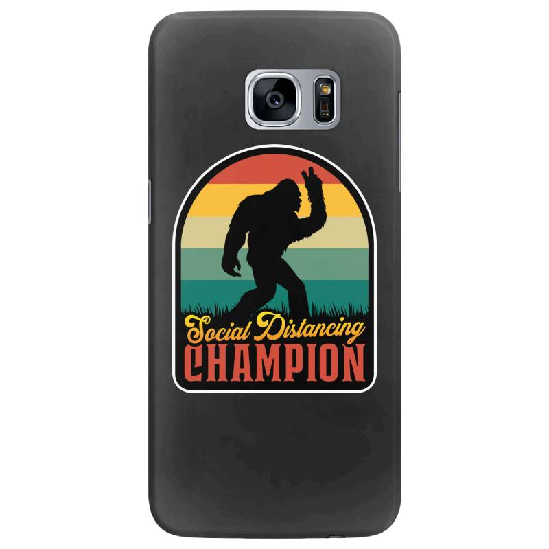 Social Distancing Champion Samsung Galaxy S7 Edge Case | Artistshot