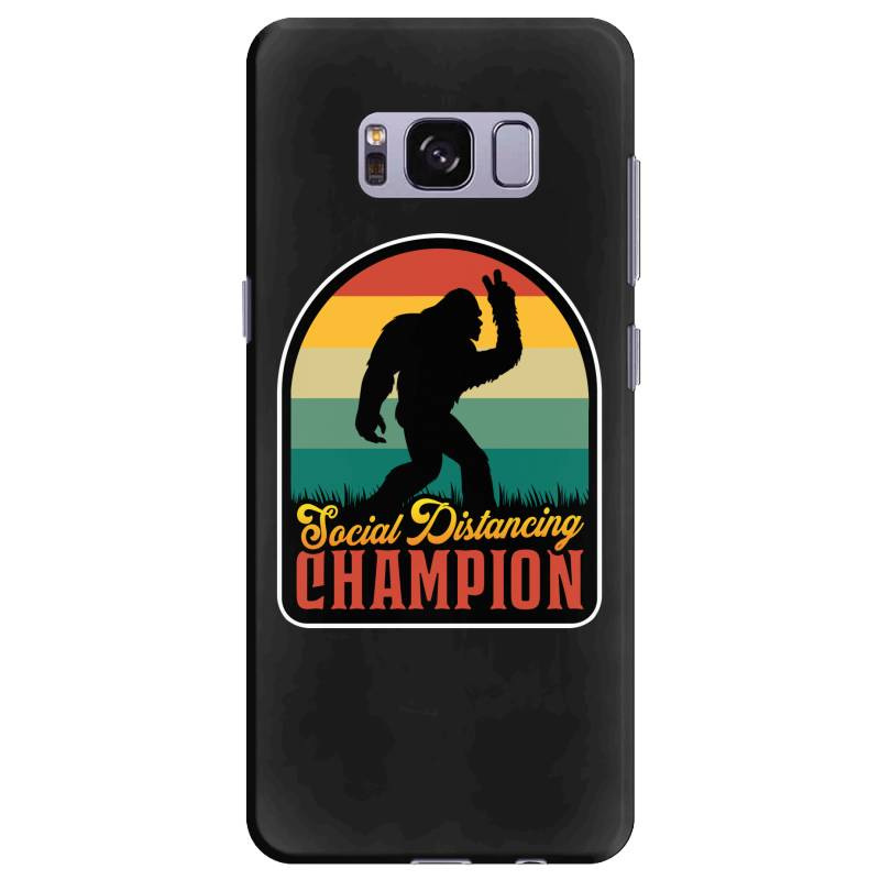 Social Distancing Champion Samsung Galaxy S8 Plus Case | Artistshot