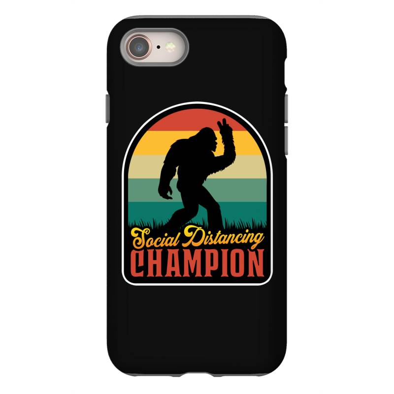 Social Distancing Champion Iphone 8 Case | Artistshot