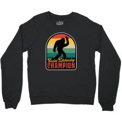 social distancing champion Crewneck Sweatshirt | Artistshot