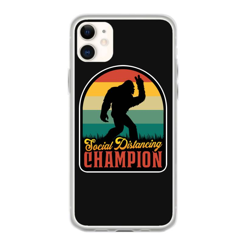 Social Distancing Champion Iphone 11 Case | Artistshot