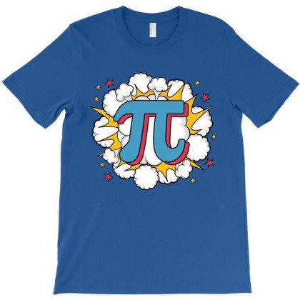 Pi Explode T-shirt Designed By Honeysuckle