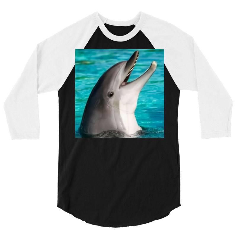 Dolphins 3/4 Sleeve Shirt | Artistshot