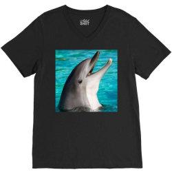 Dolphins V-Neck Tee | Artistshot