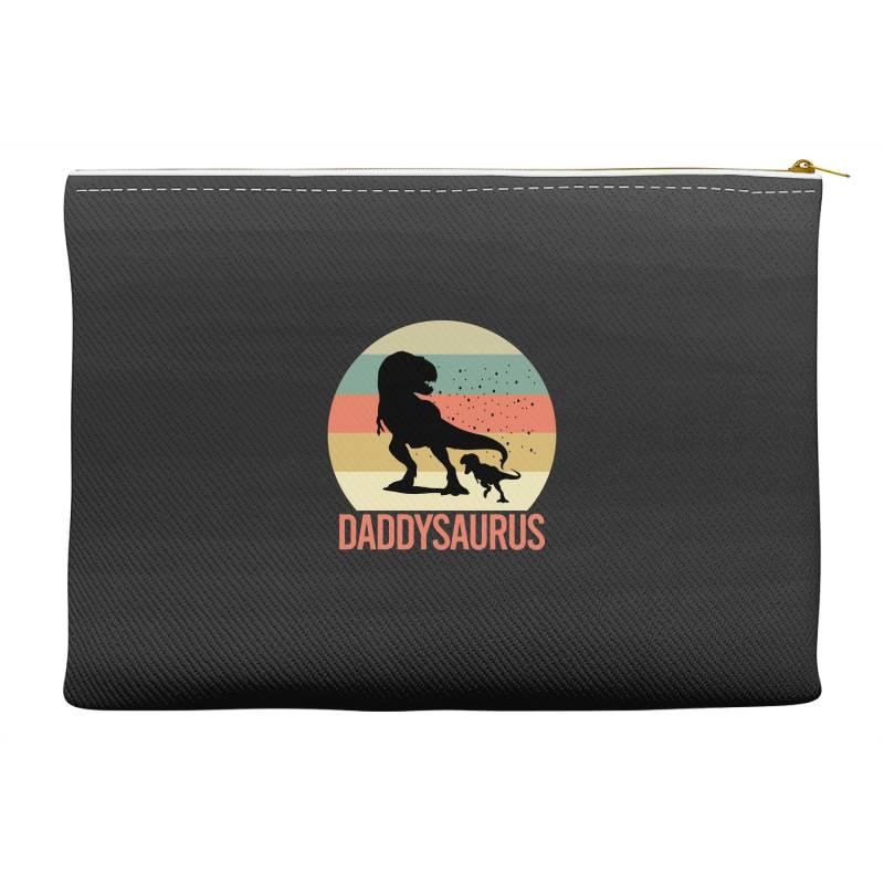 Daddysaurus Accessory Pouches | Artistshot