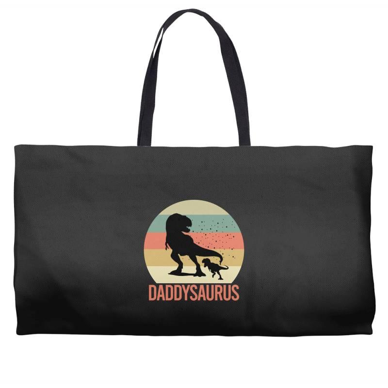 Daddysaurus Weekender Totes | Artistshot