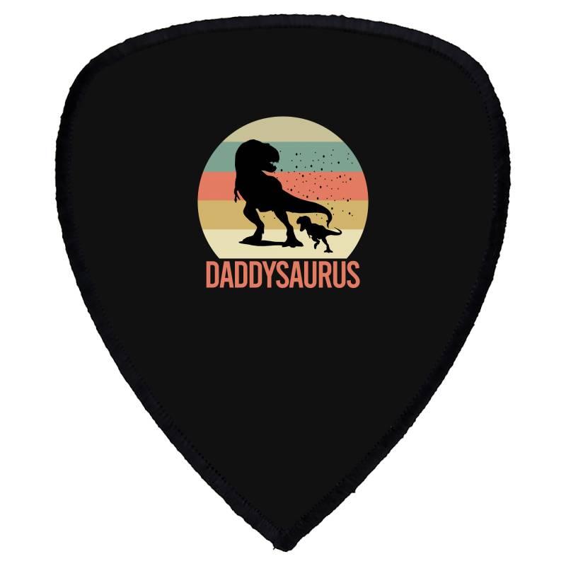 Daddysaurus Shield S Patch | Artistshot