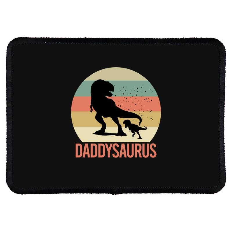 Daddysaurus Rectangle Patch | Artistshot