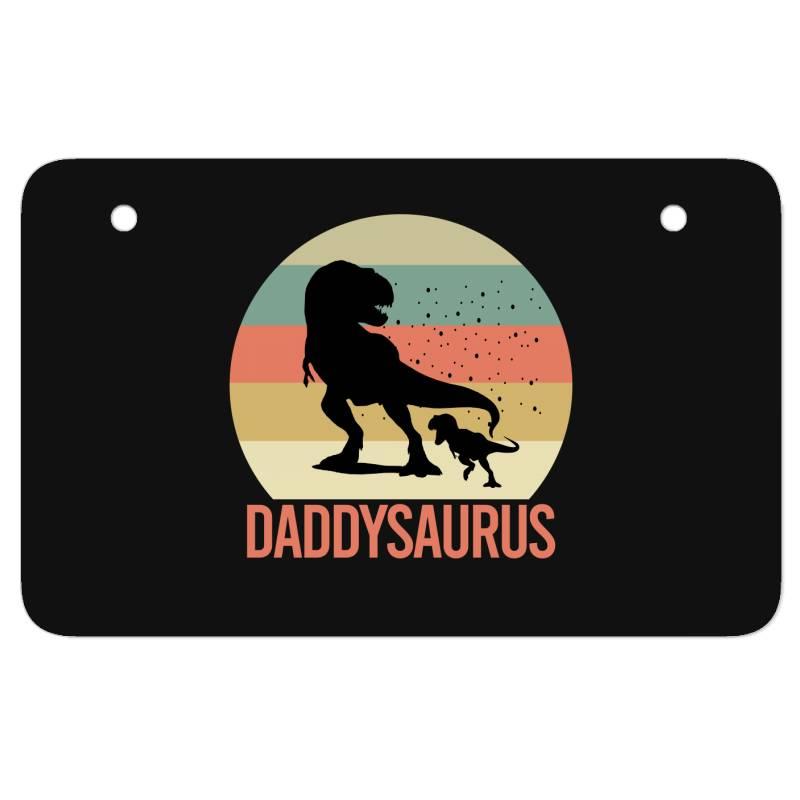 Daddysaurus Atv License Plate | Artistshot