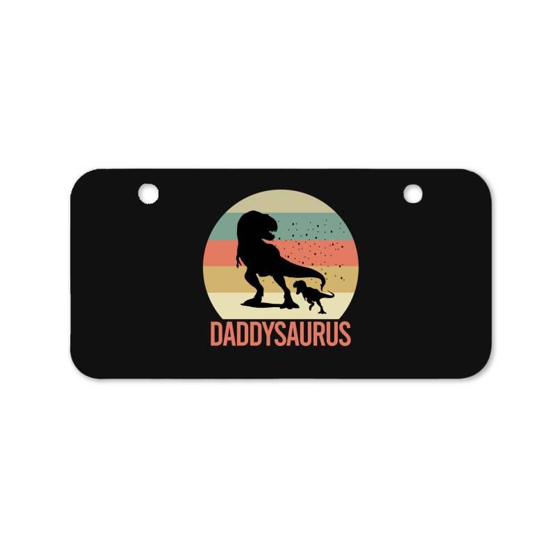 Daddysaurus Bicycle License Plate | Artistshot