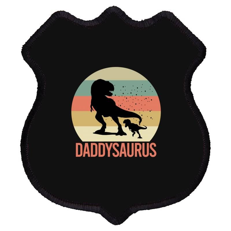 Daddysaurus Shield Patch | Artistshot