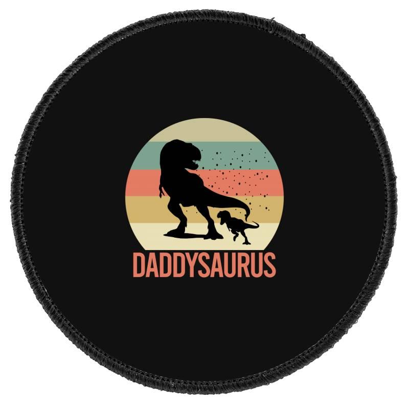 Daddysaurus Round Patch | Artistshot