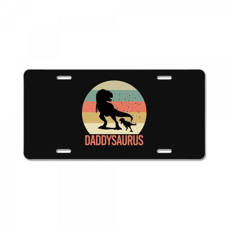 Daddysaurus License Plate | Artistshot