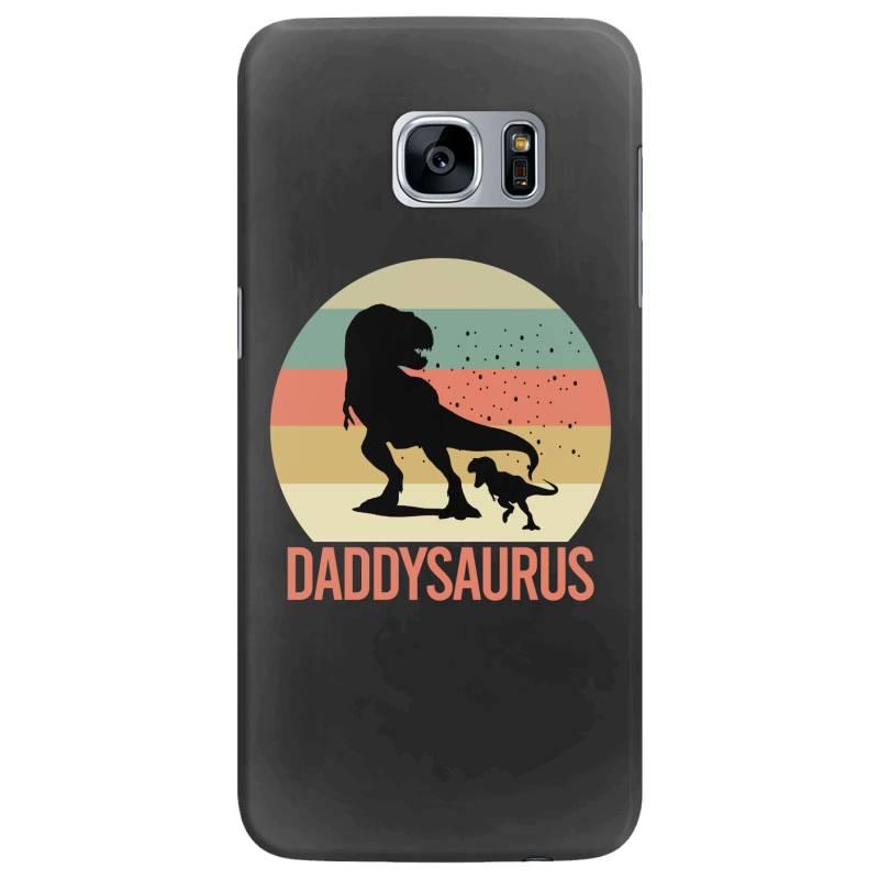 Daddysaurus Samsung Galaxy S7 Edge Case | Artistshot