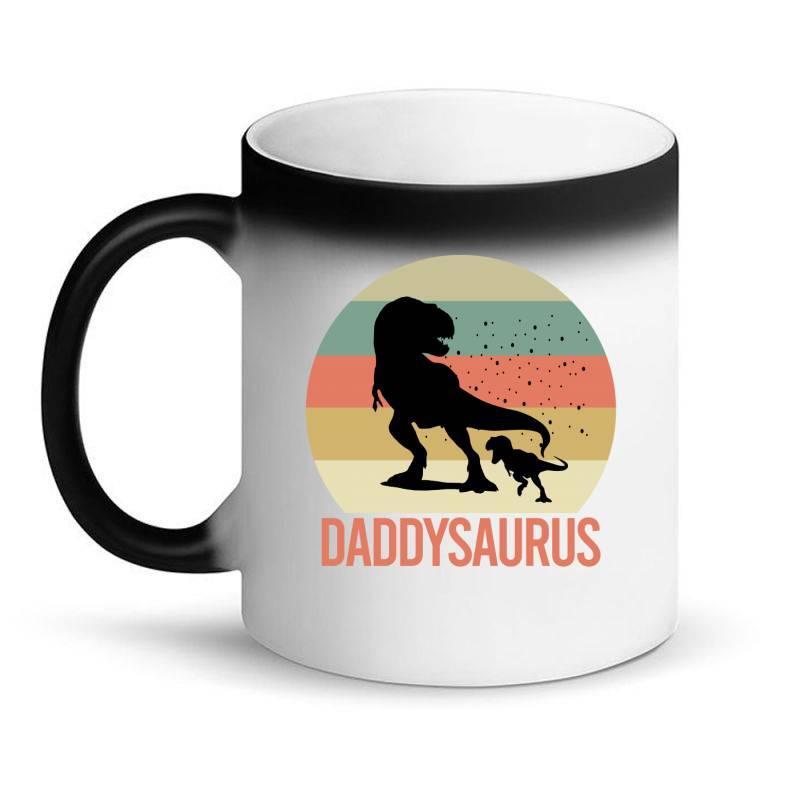 Daddysaurus Magic Mug | Artistshot