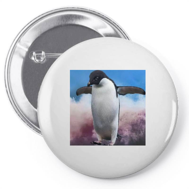 Penguin Pin-back Button | Artistshot