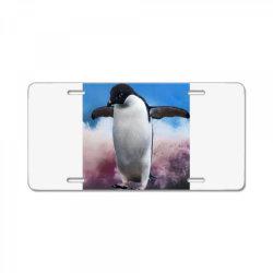 Penguin License Plate   Artistshot