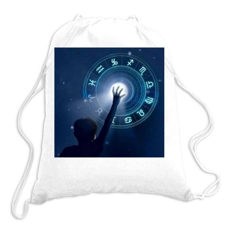 Horoscope Drawstring Bags   Artistshot