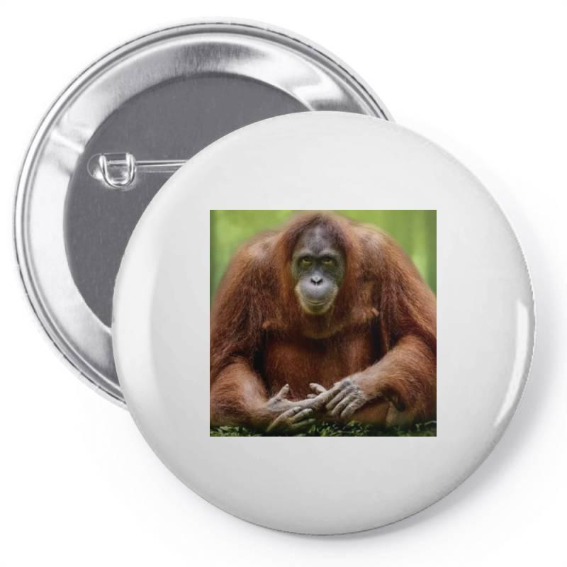 Chimpaji Pin-back Button | Artistshot