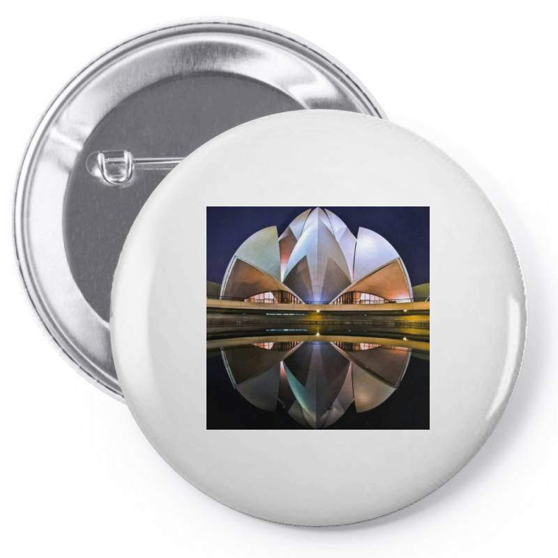 Delhi Pin-back Button | Artistshot