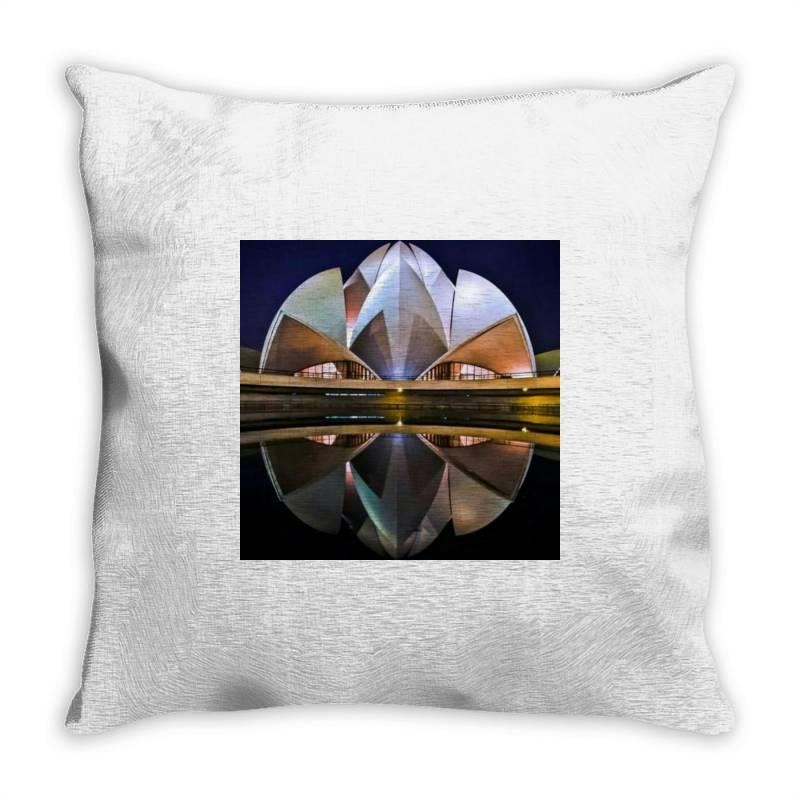Delhi Throw Pillow | Artistshot