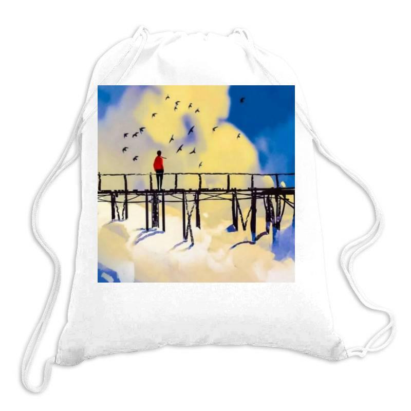 Damaged Drawstring Bags | Artistshot