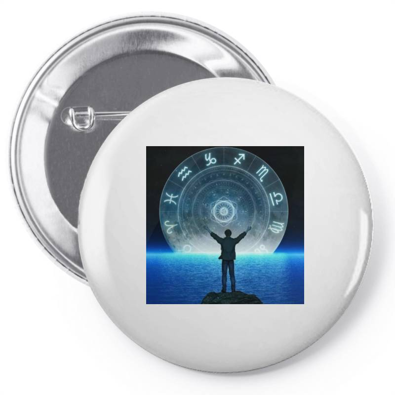 Horoscope Looks Pin-back Button   Artistshot