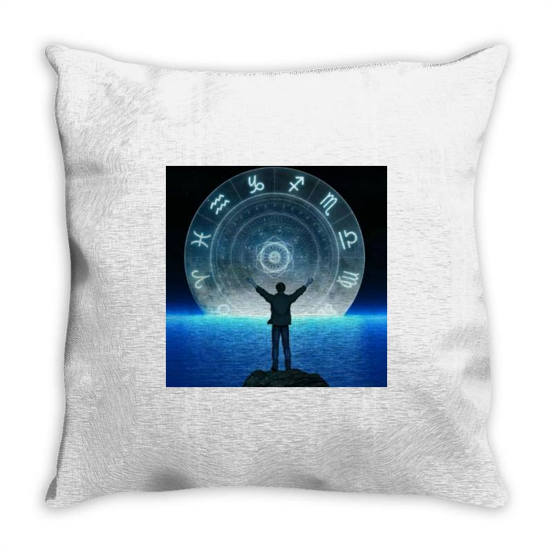 Horoscope Looks Throw Pillow | Artistshot