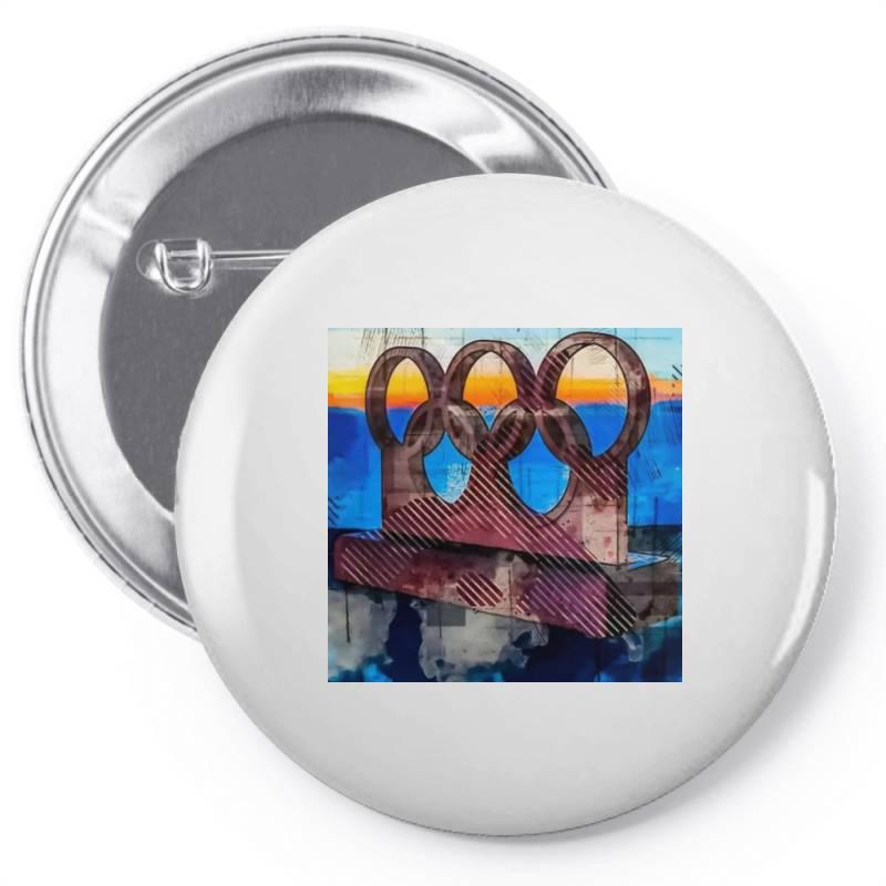 Tokyo 2020 Pin-back Button | Artistshot
