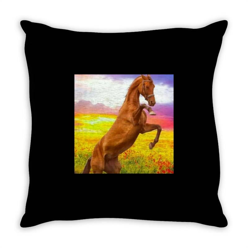 Horse Throw Pillow | Artistshot