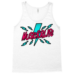 music for life Tank Top | Artistshot