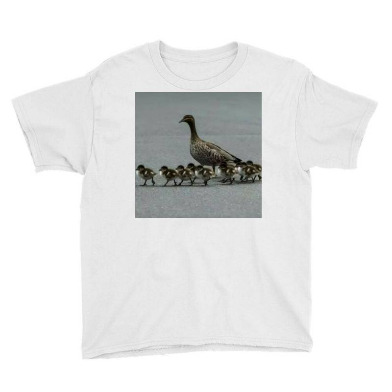 Duck Family Youth Tee   Artistshot