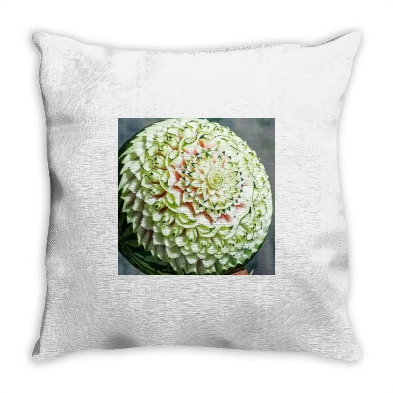 Fruit Carvings Throw Pillow   Artistshot
