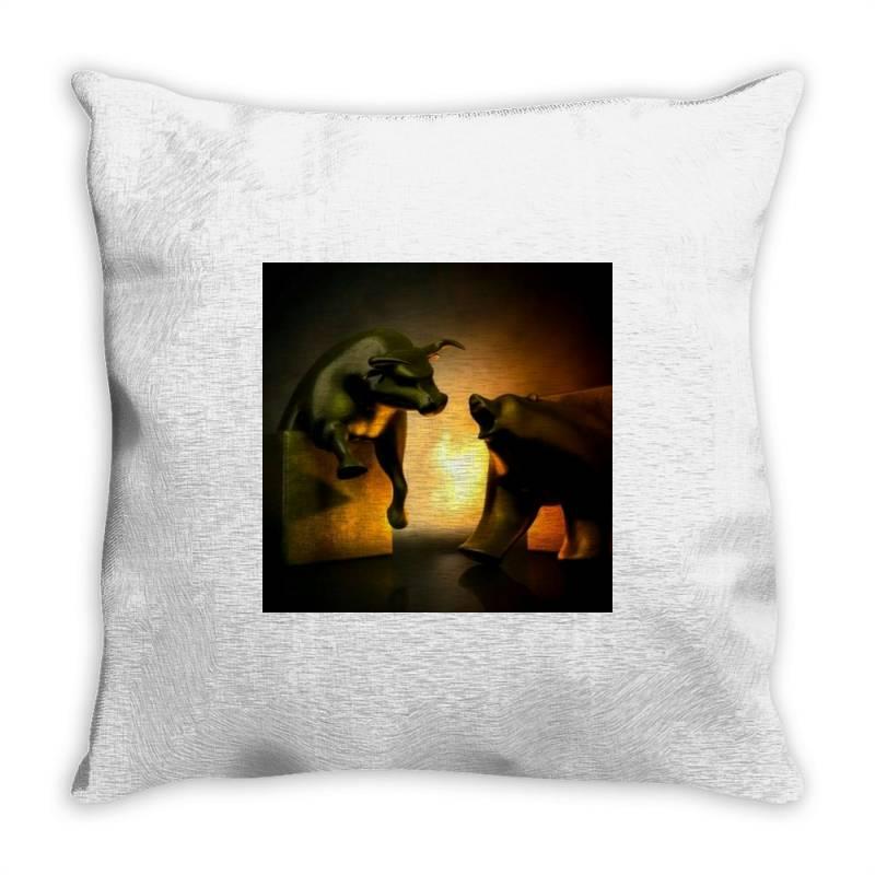 Invest Throw Pillow | Artistshot