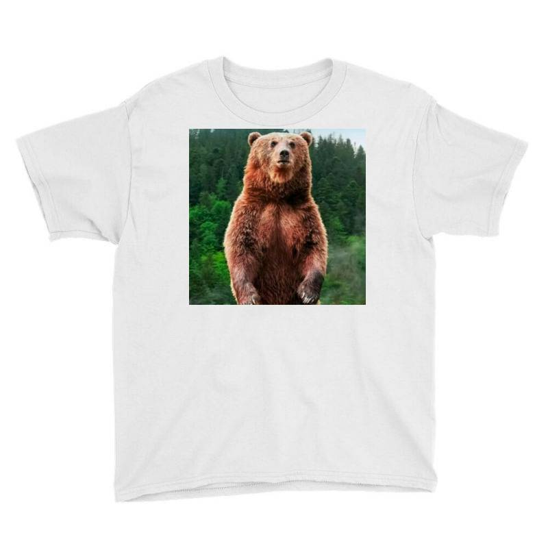 Bear Youth Tee | Artistshot