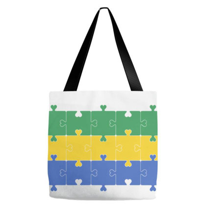 Flag Of Gabon Tote Bags Designed By Alamy