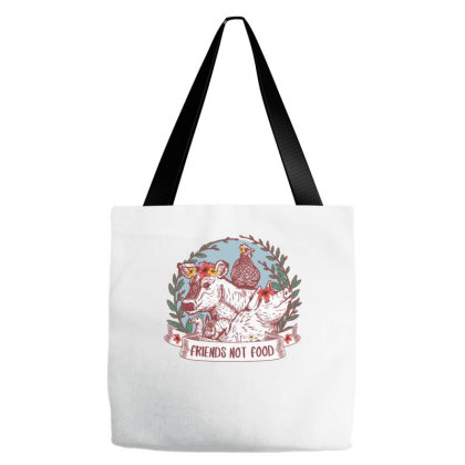 Friends Not Food Tote Bags Designed By Badaudesign