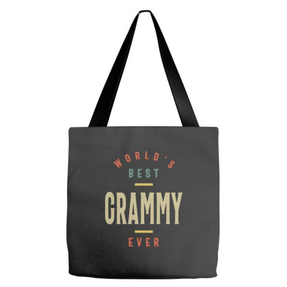 Womens Best Grammy Ever Grandma Gift Tote Bags Designed By Cidolopez