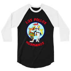 LOS POLLOS HERMANOS 3/4 Sleeve Shirt   Artistshot